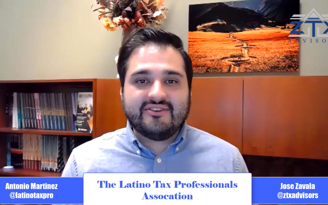 Episode 10 – Interview with Tony Martinez of the Latino Tax Professionals Association